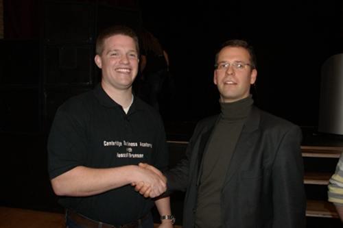 Russell Brunson and Michael Busch